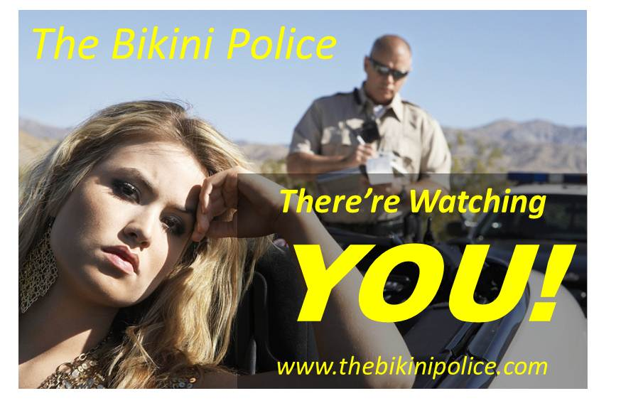 www.thebikinipolice.com the bikini police