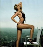 Cameron Diaz 2008 in her famous cut out one piece swimsuit Swimwear Fashion Trends