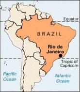 Rio de Janeiro Brazil Global Map Popular Travel Destinations
