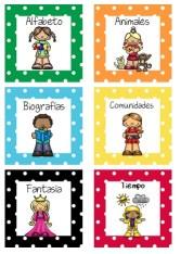 Libray Labels in Spanish 3