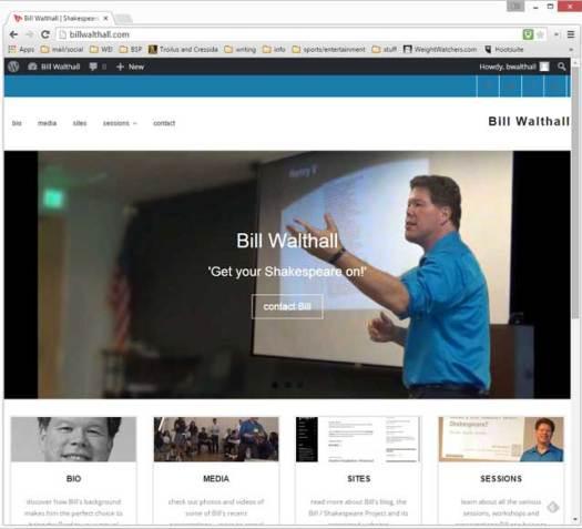 billwalthall.com: Speaker Bureau site