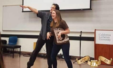 Kingsmen Shakespeare Company Educational Tour [Andy Babinski and Caitlin Arndt]