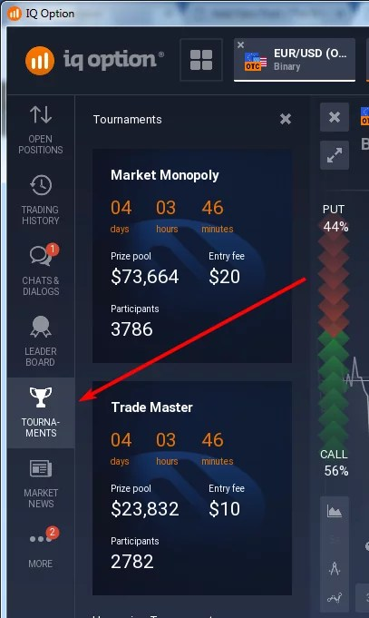 Iq binary option demo