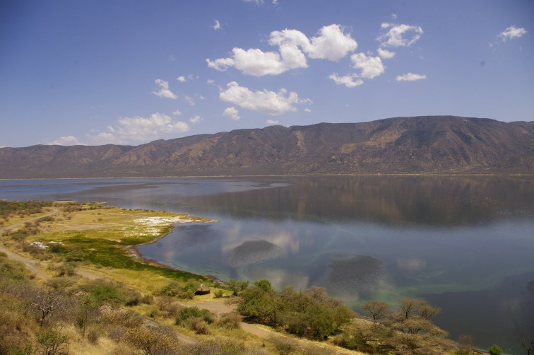 View over lake bogoria
