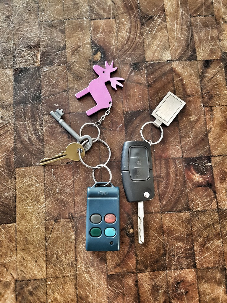 keys - the best toys in life are free