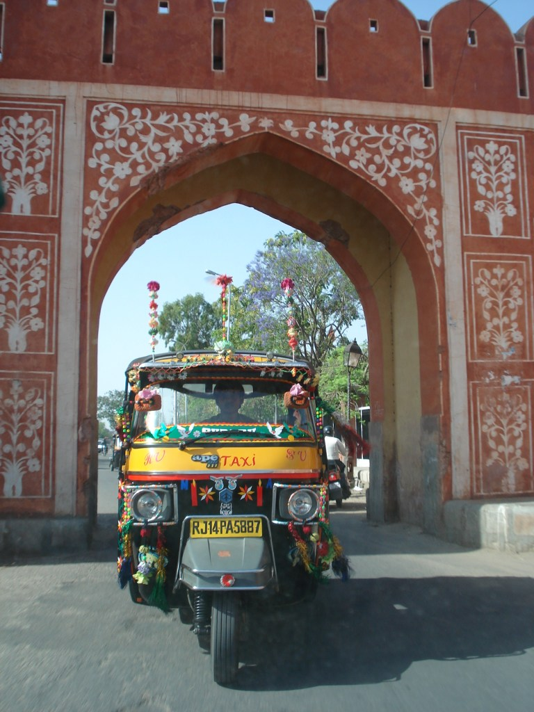 tuktuk in India