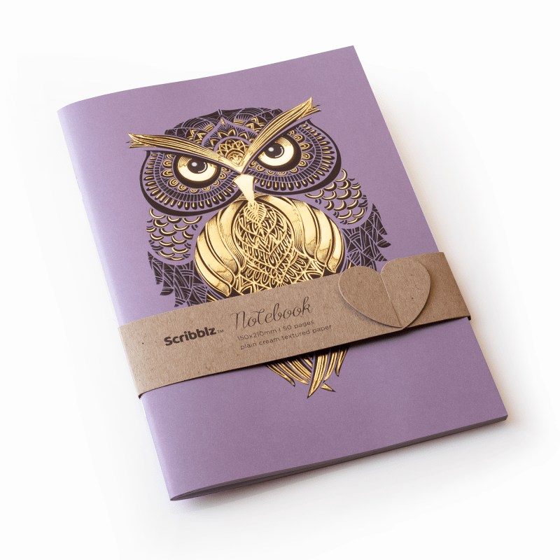 The Papery owl notebook