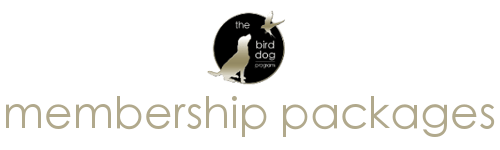 The Bird Dog Program Membership Packages
