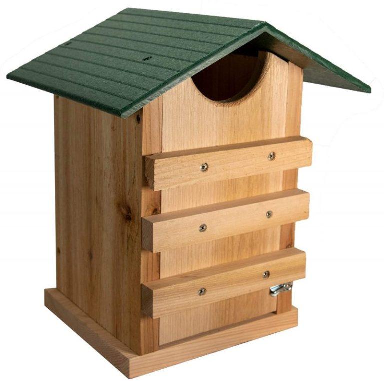 JCs Wildlife Screech Owl or Saw-Whet Owl Nesting Box