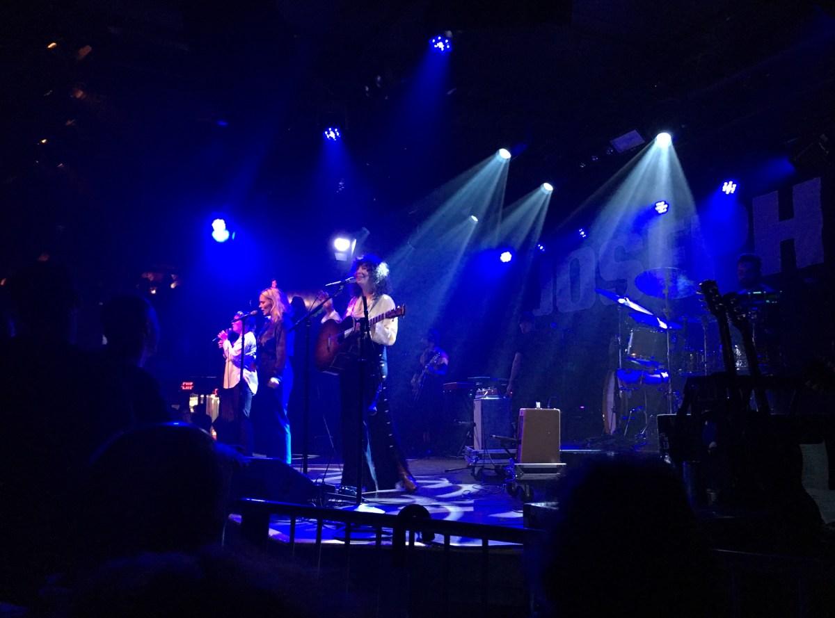 Show Review: Joseph at Paradise Rock Club (9/27)