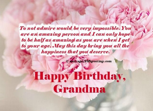 100 Happy Birthday Wishes For Grandmother Or Grandma Of 2021