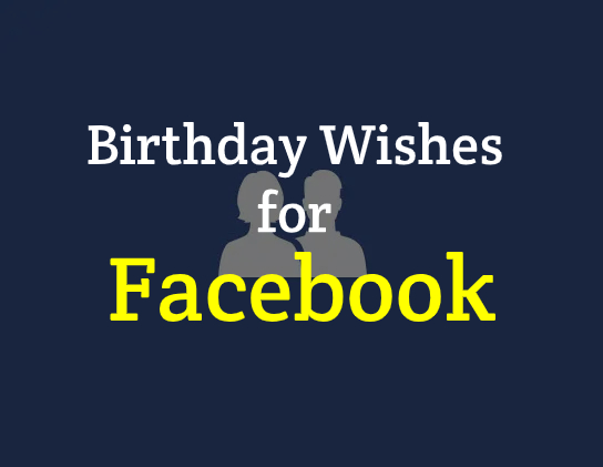 Birthday Wishes for Facebook Post