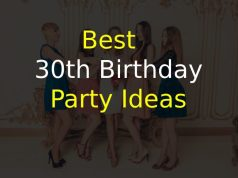 Best 30th Birthday Party Ideas