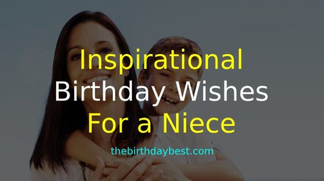 Inspirational Birthday Wishes for a Niece
