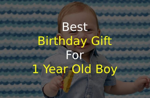 Best Birthday Gift for 1 Year Old Boy