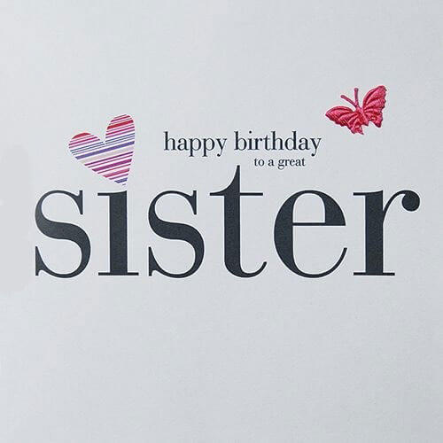 50 Happy Birthday Sister Wishes Messages Cake Images Quotes The Birthday Wishes