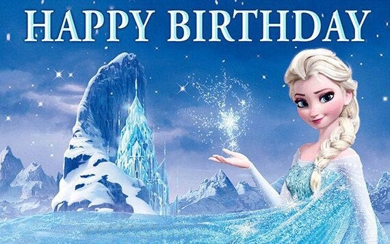50 Frozen Happy Birthday Wishes Images Quotes And Gifs The Birthday Wishes