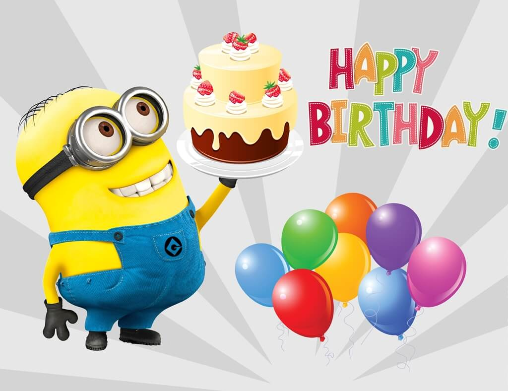 50 Minions Happy Birthday Wishes Images Quotes And Gifs The Birthday Wishes