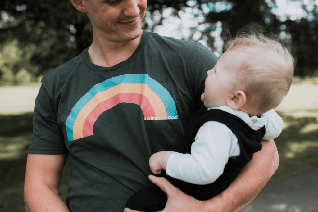rainbow dad