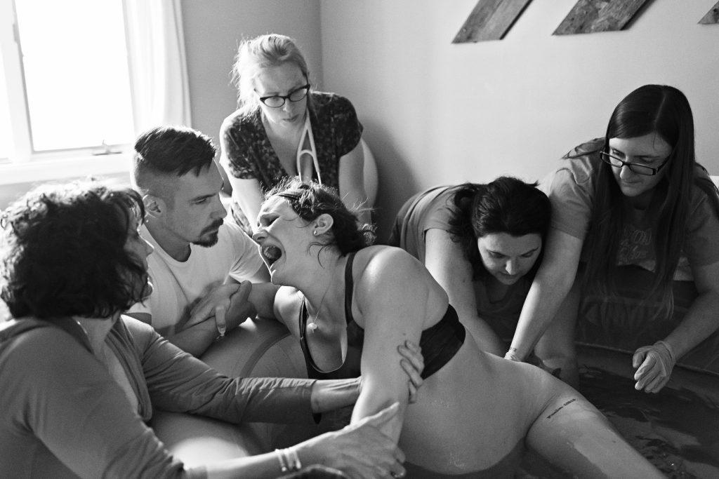 Twin Homebirth Birth Story - The Birth Hour