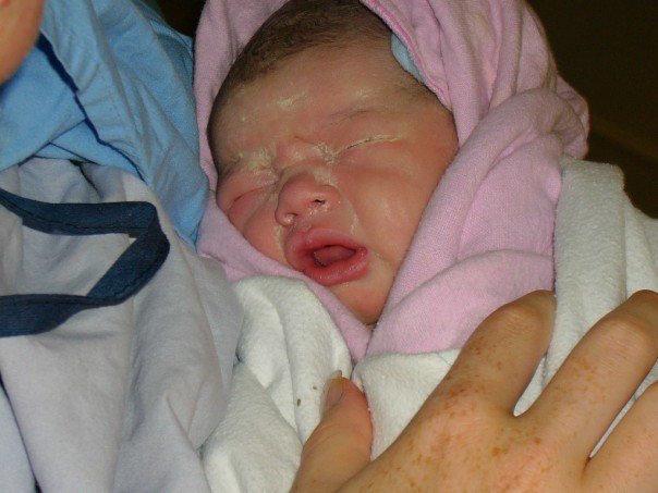 Bianca Sprague Birth bebo mia