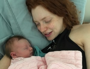 military wife birth story