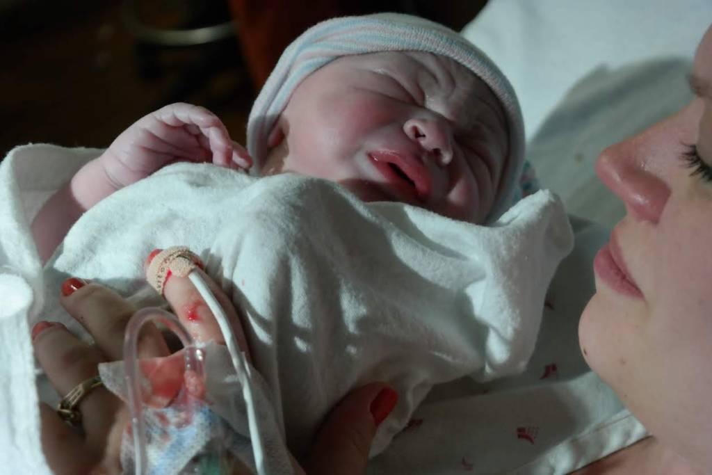 epidural hospital birth story