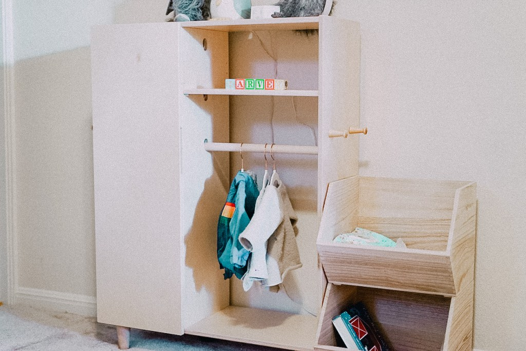 montessori wardrobe baby