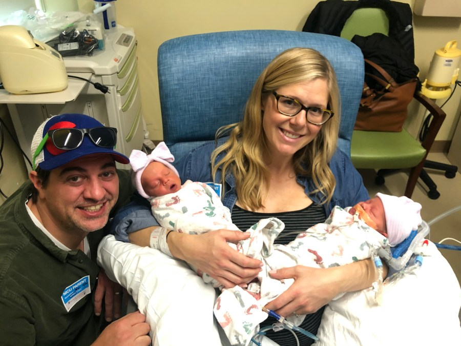 Unmedicated Twin Hospital Birth