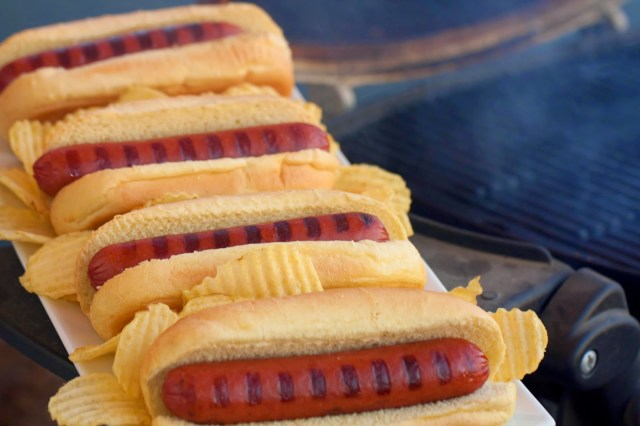 Bison Hot Dogs Tailgate