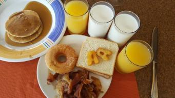 """An """"AA"""" breakfast"""