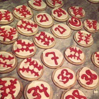 Homemade Sugar Cookies for the Fellas