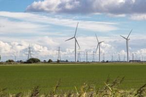 wind farm, renewable energy, mining
