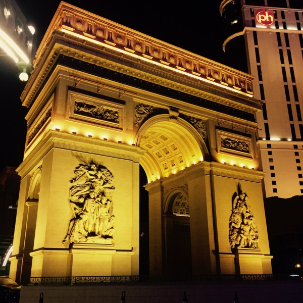 Paris Arc in LV.