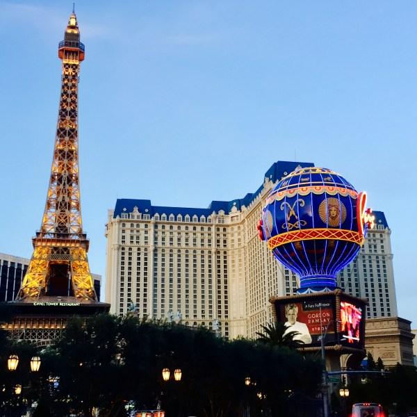 The Paris Hotel & Casino.