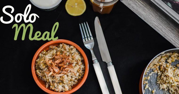 Rice Mujaddara – Solo Meal