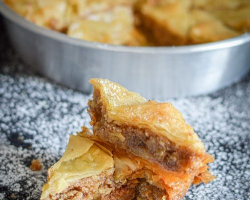 Walnut Orange Baklava