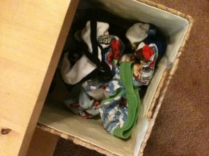 Basket of Underwear for Potty Training