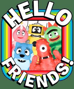 Yo Gabba Gabba Hello Friends App