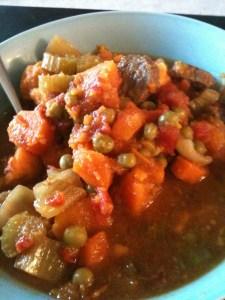 Left Over Beef Stew
