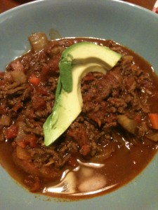 Paleo Bean-less Chili
