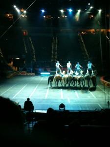 Ringling Bros Circus Dragons - Horses
