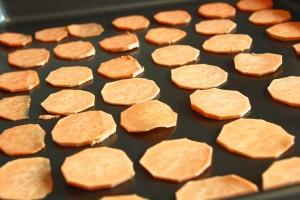 handcut sweet potato chips