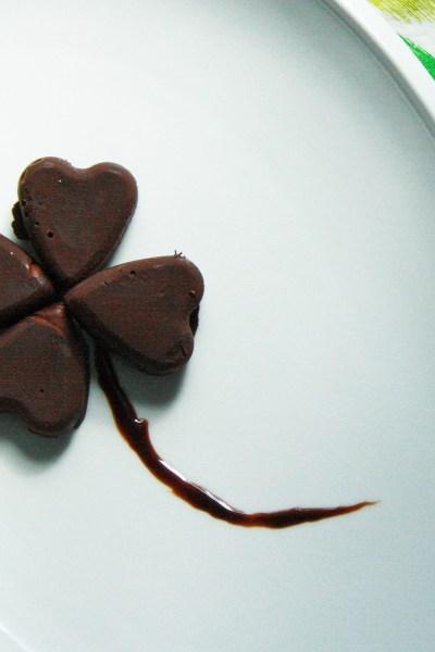 st patrick's day chocolate truffles