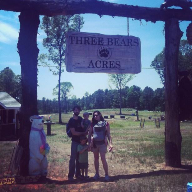 three bears acres