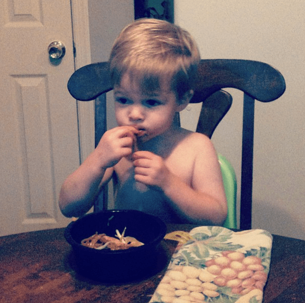 Pad Thai Toddler