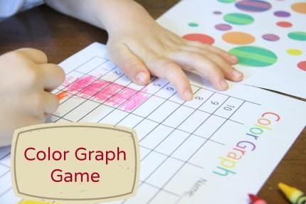 Free Color Graph Game Printables