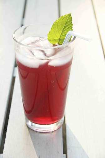 sparkiling blueberry green tea #shop