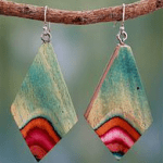 Novica Wood Earrings