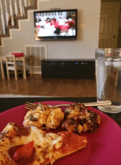 dominos pizza movie night